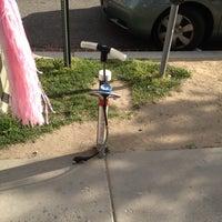 Photo taken at NoMA Bike Pump by Kate C. on 4/8/2012