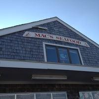Photo taken at Mac's Seafood Wellfleet Pier by Candi R. on 7/12/2012
