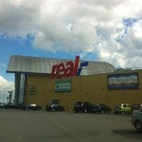 Снимок сделан в Гипермаркет REAL пользователем Gleb D. 7/22/2012