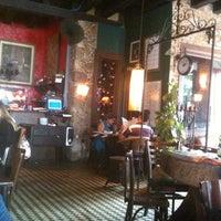 Photo taken at Margarida Cafe by Fernanda F. on 5/1/2012