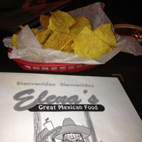 Photo taken at Elena's Mexican Restaurant by Greg P. on 8/16/2012