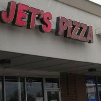 Photo taken at Jet's Pizza by Jen H. on 3/4/2012