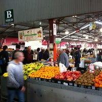 Photo taken at Queen Victoria Market by Frederick K. on 5/19/2012