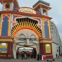 Photo taken at Luna Park by Bianca on 6/2/2012