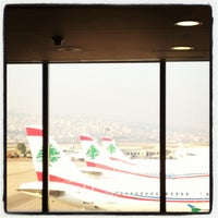 Photo taken at Beirut Rafic Hariri International Airport (BEY) by Randa K. on 7/26/2012