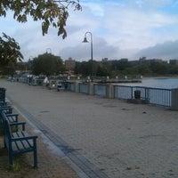 Photo taken at Canarsie Pier by Max L. on 9/4/2012