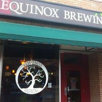 Photo taken at Equinox Brewing by Chris C. on 2/18/2012