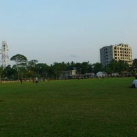 Photo taken at Bels park (joggers park) by Ahmed A. on 6/12/2012