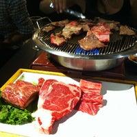 Photo taken at Manna Korean BBQ by Corinne C. on 7/20/2012