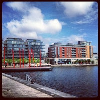 Photo taken at Grand Canal Dock by Claire M. on 7/7/2012