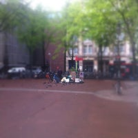 Photo taken at Beursplein by Boris 🌐 v. on 5/15/2012