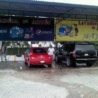 Photo taken at Lavadora de Autos Maya by Angel A. on 7/3/2012