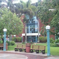 Photo taken at Broward College Library - Central Campus by Peter B. on 8/25/2012