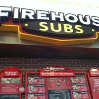 Photo taken at Firehouse Subs by Tricia H. on 2/15/2012