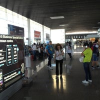 "Photo taken at Aeroporto di Catania Fontanarossa ""Vincenzo Bellini"" (CTA) by Gianluca C. on 6/20/2012"
