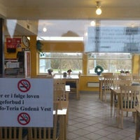 Photo taken at Gudenå Motervejs Cafeteria by Sita S. on 2/25/2012