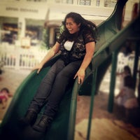 Photo taken at Playground at Americana by Ashlee E. on 8/27/2012