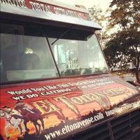 Photo taken at El Tonayense Taco Truck by Maela on 6/16/2012