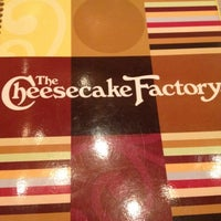 Photo taken at The Cheesecake Factory by Tia on 8/21/2012