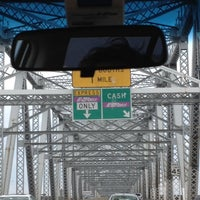 Photo taken at Outerbridge Crossing by Megan M. on 8/5/2012