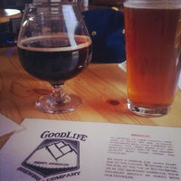 Photo taken at GoodLife Brewing by Lindsay L. on 5/13/2012