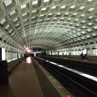 Photo taken at Judiciary Square Metro Station by William l. on 6/25/2012