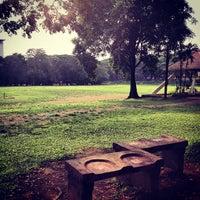 Photo taken at Sunken Garden by Gilbz A. on 5/10/2012