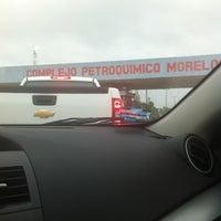 Photo taken at PEMEX Petroquímica Morelos by Fernando M. on 7/19/2012
