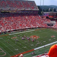 Photo taken at Frank Howard Field at Clemson Memorial Stadium by Chelsea B. on 9/8/2012