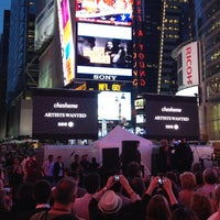 Photo taken at Artists Wanted Art Takes Time Square by Louis C. on 6/19/2012