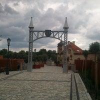 Photo taken at Bytom Odrzański Molo by Łukasz K. on 8/8/2012