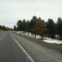 Photo taken at Bellemont, AZ by PipeMike Q. on 3/24/2012