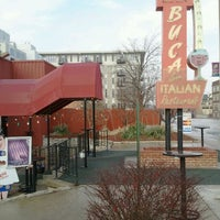 Photo taken at Buca di Beppo Italian Restaurant by Alfonso L. on 2/17/2012