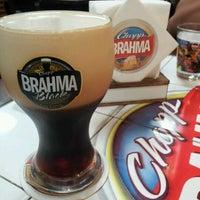 Photo taken at Quiosque Chopp Brahma (Tamboré) by Marcelo B. on 2/11/2012