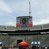 Photo taken at Cotton Bowl by Vaughn K. on 5/6/2012
