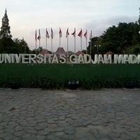 Photo taken at Universitas Gadjah Mada (UGM) by Hanny on 8/30/2012