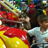 Photo taken at Fun Station USA by Suzanne L. on 4/28/2012