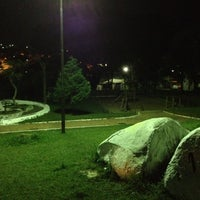Photo taken at Praça Peccicaco by Ulisses on 8/5/2012