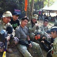 Photo taken at Paintball Valley by P r I n C e S s on 7/7/2012