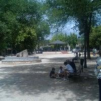 Photo taken at Plaza de Rogelio Enríquez by Sonia C. on 6/10/2012