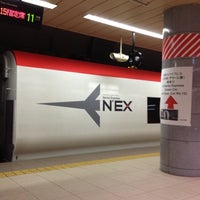 Photo taken at JR Narita Airport (Terminal 1) Station by Keith S. on 4/16/2012