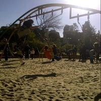 Photo taken at Parque Rivadavia by Dany on 7/29/2012