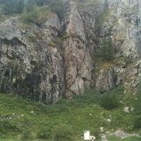 Photo taken at Via Ferrata d'Arsine by Clement D. on 8/24/2012