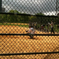 Photo taken at Central Park North Meadow Field 6 by Mia G. on 5/6/2012