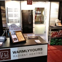 Photo taken at WarmlyYours Booth #113 at KBIS 2012 by Gareth J. on 4/24/2012