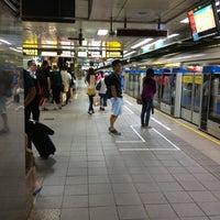 Photo taken at MRT Taipei Main Station by Xanga K. on 8/23/2012