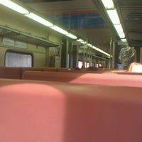 Photo taken at Southshore Train by Emily E. on 4/13/2012