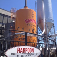Photo taken at Harpoon Brewery by Alison W. on 7/21/2012