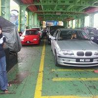 Photo taken at Penang Ferry Terminal (Pangkalan Raja Tun Uda) by Nurul S. on 7/8/2012