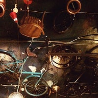 Снимок сделан в Амбар / Amsterdam Bar (Ambar) пользователем Юлия В. 4/25/2012